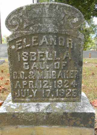 BAKER, ELEANOR ISBELLA - Madison County, Alabama | ELEANOR ISBELLA BAKER - Alabama Gravestone Photos