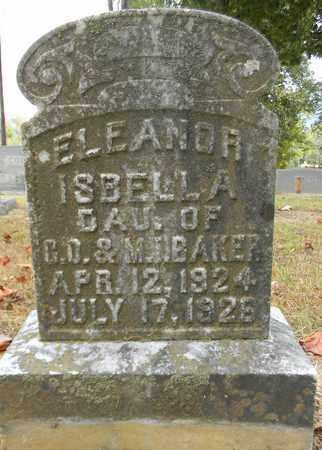 BAKER, ELEANOR ISBELLA - Madison County, Alabama | ELEANOR ISBELLA BAKER - Alabama Gravestone Photos