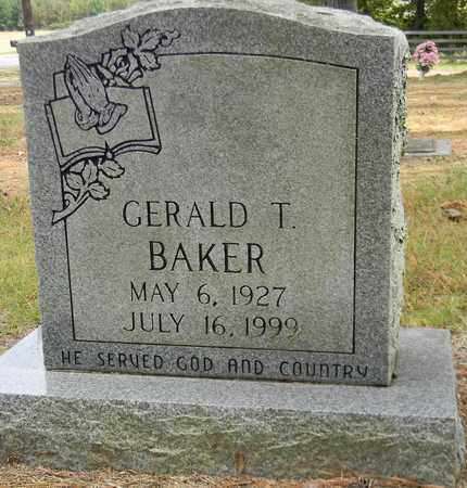 BAKER, GERALD T - Madison County, Alabama | GERALD T BAKER - Alabama Gravestone Photos