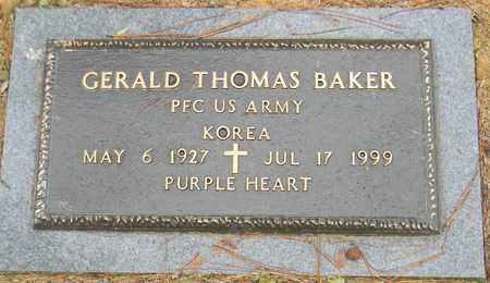 BAKER (VETERAN KOR), GERALD THOMAS - Madison County, Alabama | GERALD THOMAS BAKER (VETERAN KOR) - Alabama Gravestone Photos