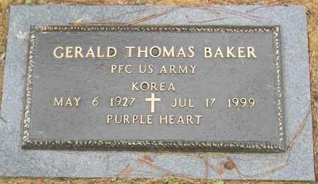 BAKER (VETERAN KOR), GERALD THOMAS - Madison County, Alabama | GERALD THOMAS BAKER (VETERAN KOR) - Alabama Gravestone Photos