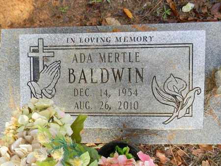 BALDWIN, ADA MERTLE - Madison County, Alabama | ADA MERTLE BALDWIN - Alabama Gravestone Photos