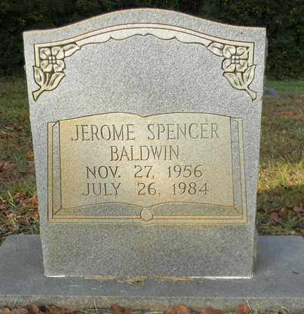 BALDWIN, JEROME SPENCER - Madison County, Alabama | JEROME SPENCER BALDWIN - Alabama Gravestone Photos
