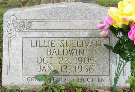 SULLIVAN BALDWIN, LILLIE - Madison County, Alabama | LILLIE SULLIVAN BALDWIN - Alabama Gravestone Photos
