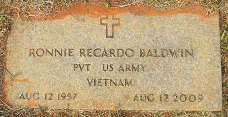 BALDWIN (VETERAN VIET), RONNIE RECARDO - Madison County, Alabama | RONNIE RECARDO BALDWIN (VETERAN VIET) - Alabama Gravestone Photos