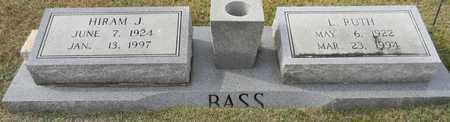 BASS, L RUTH - Madison County, Alabama | L RUTH BASS - Alabama Gravestone Photos