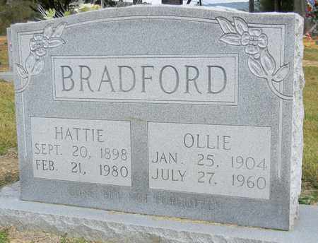 BRADFORD, HATTIE - Madison County, Alabama | HATTIE BRADFORD - Alabama Gravestone Photos