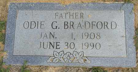BRADFORD, ODIE G - Madison County, Alabama | ODIE G BRADFORD - Alabama Gravestone Photos