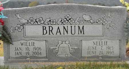 BRANUM, WILLIE - Madison County, Alabama | WILLIE BRANUM - Alabama Gravestone Photos