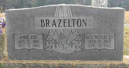 BRAZELTON, REV WILLIE ED - Madison County, Alabama | REV WILLIE ED BRAZELTON - Alabama Gravestone Photos