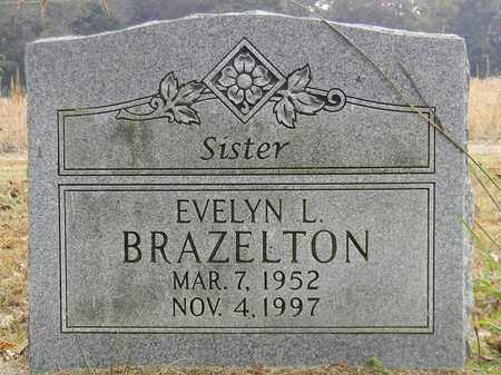 BRAZELTON, EVELYN L - Madison County, Alabama | EVELYN L BRAZELTON - Alabama Gravestone Photos