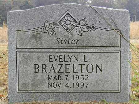 BRAZELTON, EVELYN L - Madison County, Alabama | EVELYN L BRAZELTON - Alabama Gravestone Photos