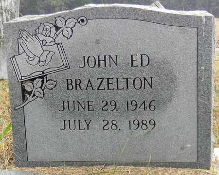 BRAZELTON, JOHN ED - Madison County, Alabama | JOHN ED BRAZELTON - Alabama Gravestone Photos