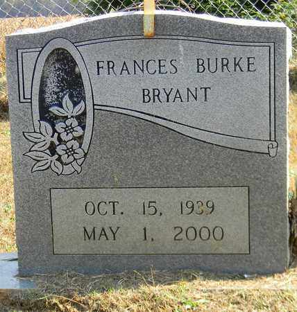BURKE BRYANT, FRANCES - Madison County, Alabama | FRANCES BURKE BRYANT - Alabama Gravestone Photos