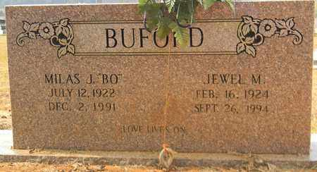 BUFORD, MILAS J - Madison County, Alabama | MILAS J BUFORD - Alabama Gravestone Photos