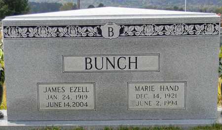 BUNCH, JAMES EZELL - Madison County, Alabama | JAMES EZELL BUNCH - Alabama Gravestone Photos