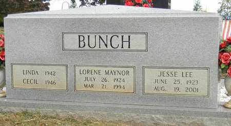 BUNCH, LORENE MAYNOR - Madison County, Alabama | LORENE MAYNOR BUNCH - Alabama Gravestone Photos