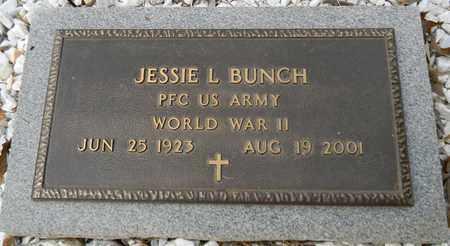 BUNCH (VETERAN WWII), JESSIE L - Madison County, Alabama | JESSIE L BUNCH (VETERAN WWII) - Alabama Gravestone Photos