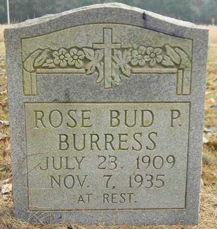 BURRESS, ROSE BUD P - Madison County, Alabama | ROSE BUD P BURRESS - Alabama Gravestone Photos