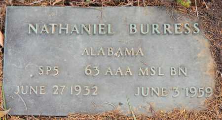 BURRESS (VETERAN), NATHANIEL - Madison County, Alabama | NATHANIEL BURRESS (VETERAN) - Alabama Gravestone Photos
