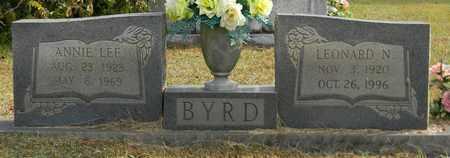 BYRD, LEONARD N - Madison County, Alabama | LEONARD N BYRD - Alabama Gravestone Photos
