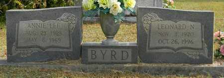 BYRD, ANNIE LEE - Madison County, Alabama | ANNIE LEE BYRD - Alabama Gravestone Photos