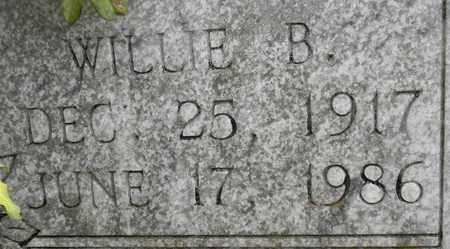 BYRD (CLOSEUP), WILLIE B - Madison County, Alabama | WILLIE B BYRD (CLOSEUP) - Alabama Gravestone Photos