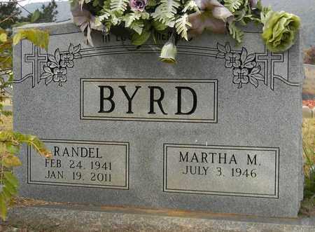 BYRD, RANDEL - Madison County, Alabama | RANDEL BYRD - Alabama Gravestone Photos