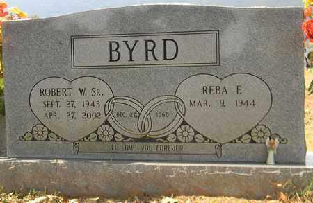 BYRD, SR, ROBERT W - Madison County, Alabama | ROBERT W BYRD, SR - Alabama Gravestone Photos