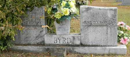 BYRD (GRANITE UPRIGHT), WILLIE B - Madison County, Alabama | WILLIE B BYRD (GRANITE UPRIGHT) - Alabama Gravestone Photos