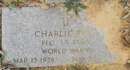 BYRD (VETERAN WWII), CHARLIE - Madison County, Alabama | CHARLIE BYRD (VETERAN WWII) - Alabama Gravestone Photos