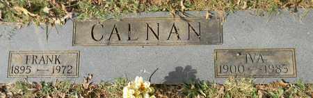 CALNAN, IVA - Madison County, Alabama   IVA CALNAN - Alabama Gravestone Photos