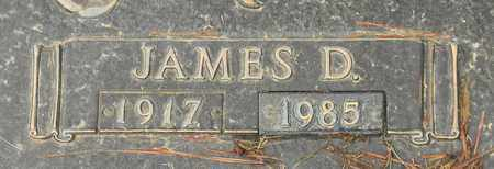 COLLIER (CLOSEUP), JAMES D - Madison County, Alabama | JAMES D COLLIER (CLOSEUP) - Alabama Gravestone Photos