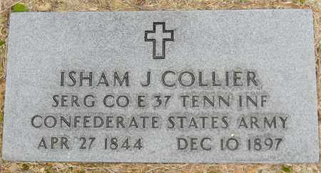 COLLIER (VETERAN CSA), ISHAM J - Madison County, Alabama | ISHAM J COLLIER (VETERAN CSA) - Alabama Gravestone Photos