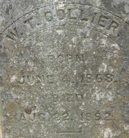 COLLIER (CLOSEUP), W T - Madison County, Alabama | W T COLLIER (CLOSEUP) - Alabama Gravestone Photos