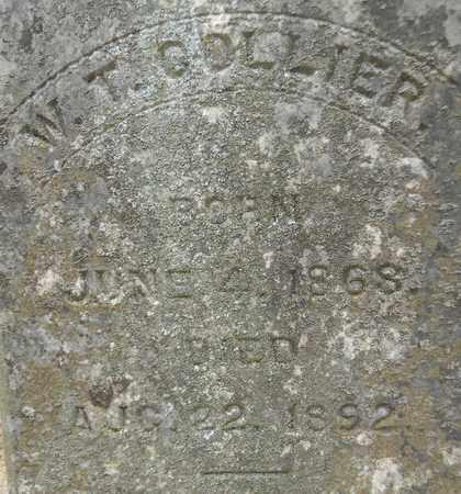 COLLIER (CLOSEUP), W T - Madison County, Alabama | W T COLLIER (CLOSEUP) - Alabama Gravestone Photos