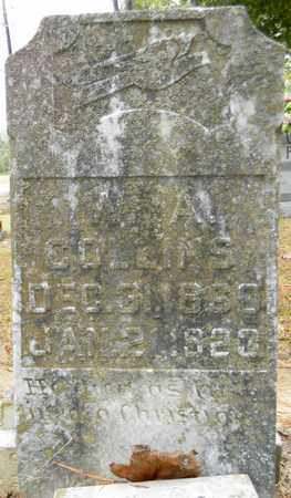 COLLINS, W A - Madison County, Alabama | W A COLLINS - Alabama Gravestone Photos