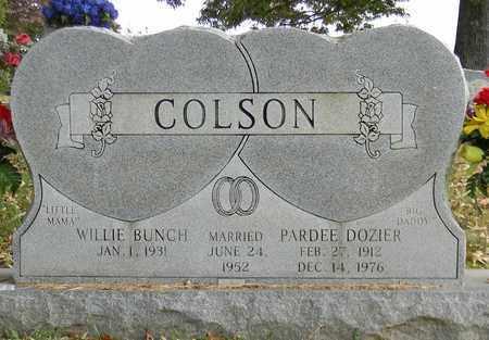 COLSON, PARDEE DOZIER - Madison County, Alabama | PARDEE DOZIER COLSON - Alabama Gravestone Photos