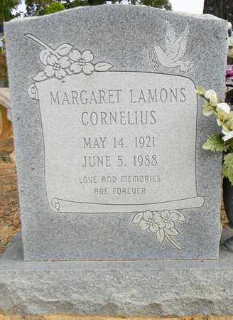 LAMONS CORNELIUS, MARGARET - Madison County, Alabama   MARGARET LAMONS CORNELIUS - Alabama Gravestone Photos