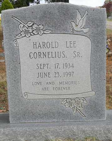CORNELIUS, SR, HAROLD LEE - Madison County, Alabama | HAROLD LEE CORNELIUS, SR - Alabama Gravestone Photos