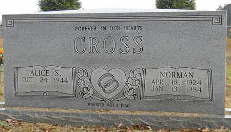 CROSS, NORMAN - Madison County, Alabama | NORMAN CROSS - Alabama Gravestone Photos