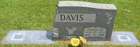 DAVIS, THOMAS W - Madison County, Alabama | THOMAS W DAVIS - Alabama Gravestone Photos