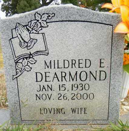 DEARMOND, MILDRED E - Madison County, Alabama | MILDRED E DEARMOND - Alabama Gravestone Photos