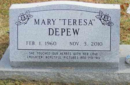 DEPEW, MARY - Madison County, Alabama | MARY DEPEW - Alabama Gravestone Photos