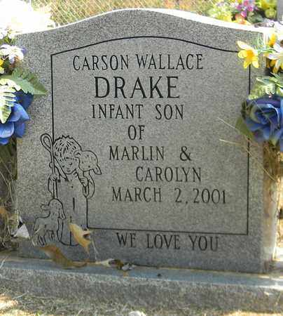 DRAKE, CARSON WALLACE - Madison County, Alabama | CARSON WALLACE DRAKE - Alabama Gravestone Photos