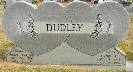DUDLEY, LONNIE T - Madison County, Alabama | LONNIE T DUDLEY - Alabama Gravestone Photos