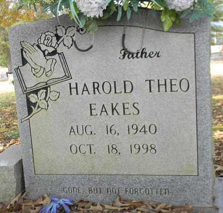 EAKES, HAROLD THEO - Madison County, Alabama   HAROLD THEO EAKES - Alabama Gravestone Photos