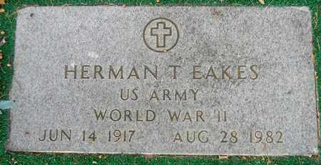 EAKES (VETERAN WWII), HERMAN T - Madison County, Alabama | HERMAN T EAKES (VETERAN WWII) - Alabama Gravestone Photos