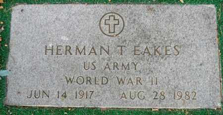 EAKES (VETERAN WWII), HERMAN T - Madison County, Alabama | HERMAN T EAKES (VETERAN WWII) - Alabama Gravestone Photos