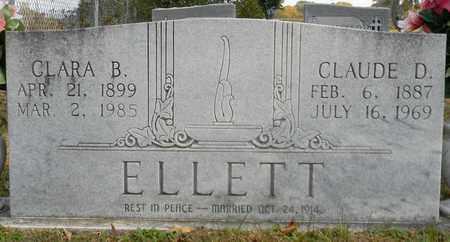 ELLETT, CLAUDE D - Madison County, Alabama | CLAUDE D ELLETT - Alabama Gravestone Photos